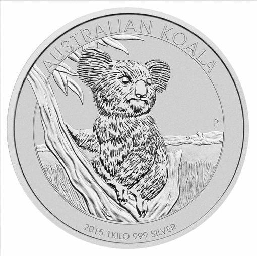 2015 Australian Koala 1kg Silver Bullion Coin 1