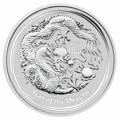 2012 Year of the Dragon 10oz .999 Silver Bullion Coin – Lunar Series II - The Perth Mint 4