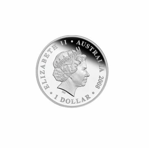 2008 HMAS Sydney II 1oz .999 Silver Proof Coin - The Perth Mint 2