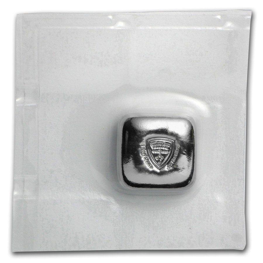 Southern Cross Bullion 1oz .999 Silver Cast Button Bullion Bar 5