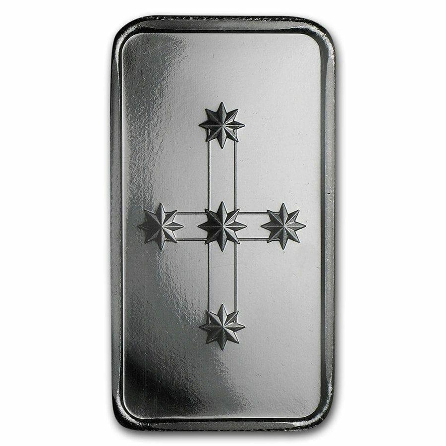 Eureka 1oz .999 Silver Minted Bullion Bar - Southern Cross Bullion 2