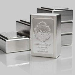 Scottsdale Silver 1kg .999 Silver Cast Bullion Stacker Bar 5