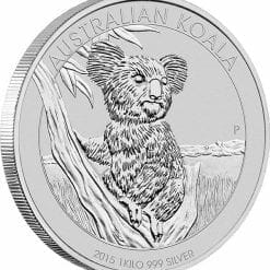 2015 Australian Koala 1kg Silver Bullion Coin 4