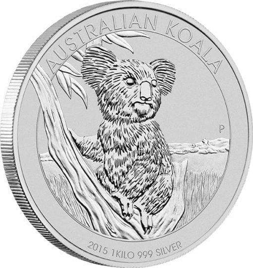 2015 Australian Koala 1kg Silver Bullion Coin 2