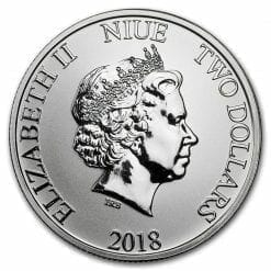 2018 Star Wars Stormtrooper 1oz .999 Silver Bullion Coin - New Zealand Mint 3