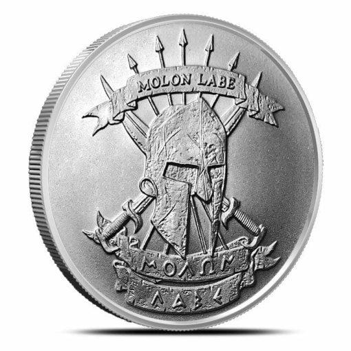 Come and Take It 1oz .999 Silver Bullion Coin – Molon Labe 2