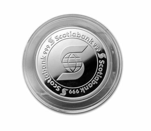 5oz .999 Silver Bullion Coin - Scotiabank 2