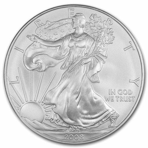 2008 American Eagle 1oz .999 Silver Bullion Coin ASE 1