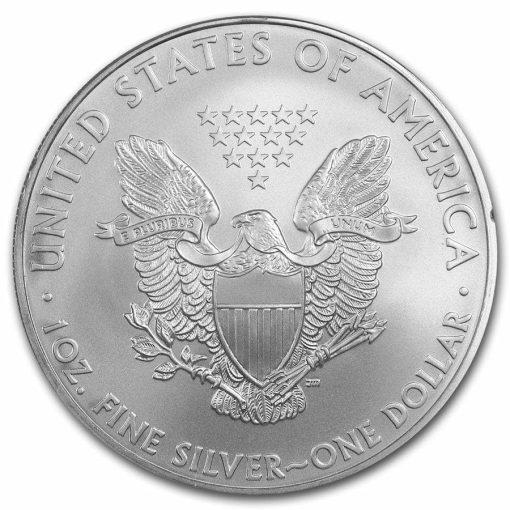 2008 American Eagle 1oz .999 Silver Bullion Coin ASE 2