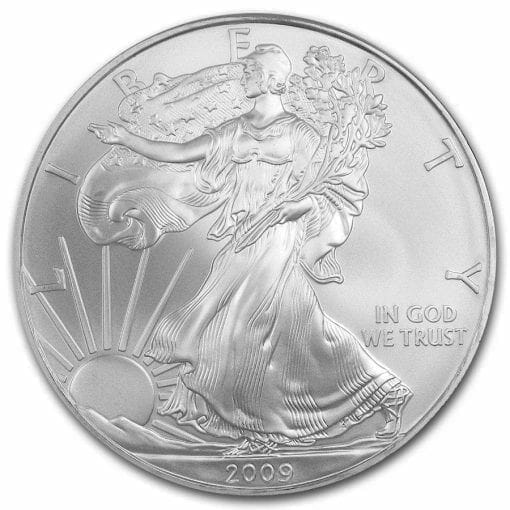 2009 American Eagle 1oz .999 Silver Bullion Coin ASE 1