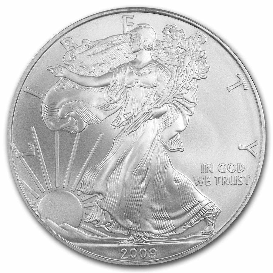 2009 American Eagle 1oz .999 Silver Bullion Coin ASE 1
