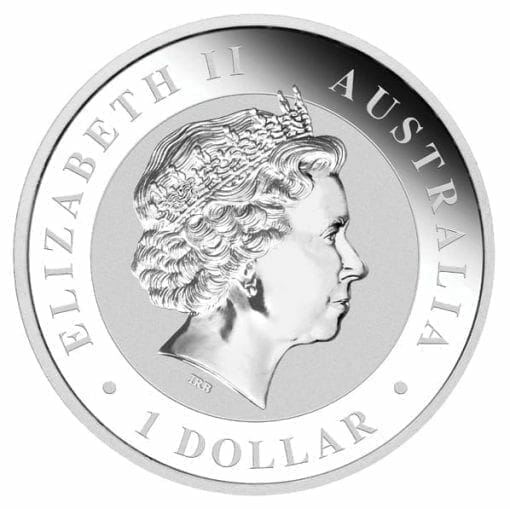 2011 Australian Kookaburra 1oz .999 Silver Bullion Coin - The Perth Mint BU 2