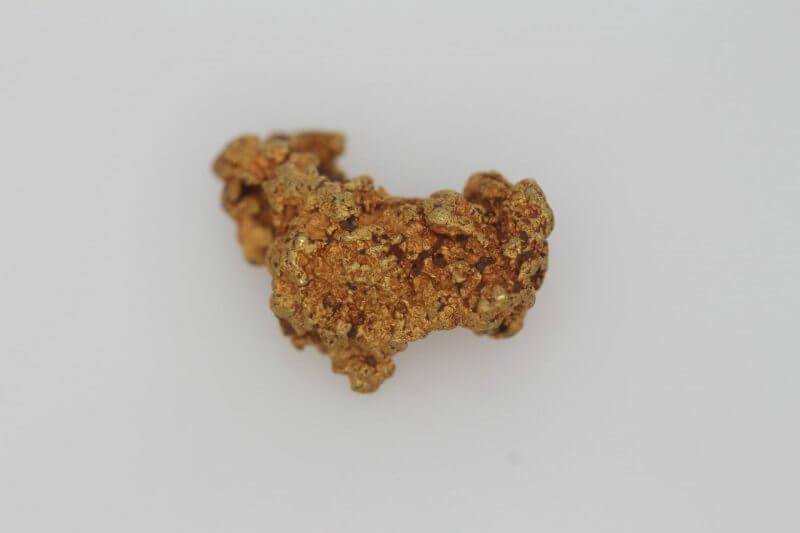 Map of Australia - Natural Western Australian Gold Nugget - 1.59g 10