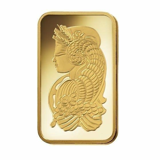 Lady Fortuna 20g .9999 Gold Minted Bullion Bar - PAMP Suisse 2