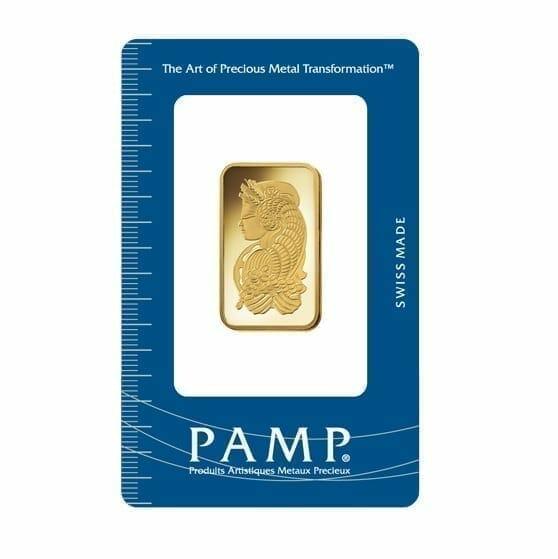 Lady Fortuna 20g .9999 Gold Minted Bullion Bar - PAMP Suisse 1