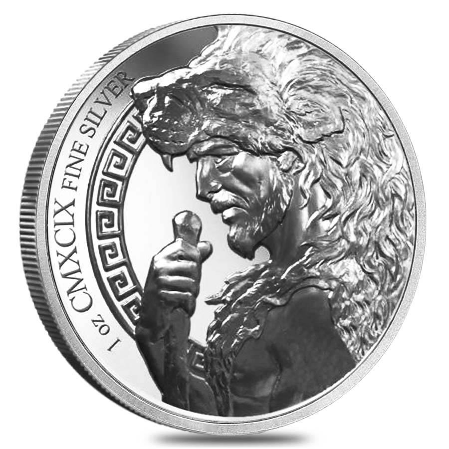 The 12 Labors of Hercules - Cerberus 1oz .999 Silver Bullion Coin - Provident Mint 2