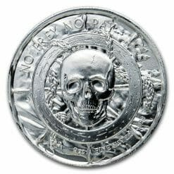Privateer Series - The Captain 2oz .999 Ultra High Relief Silver Bullion Coin - Elemetal Mint 3