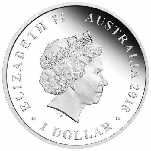 2018 Australian Swan 1oz .9999 Silver Bullion Coin - The Perth Mint 3