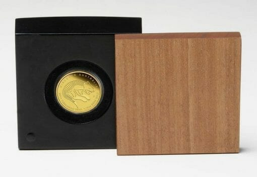 2011 Discover Australia Dreaming Series - Tasmanian Devil 1/10oz .9999 Gold Proof Coin - The Perth Mint 5