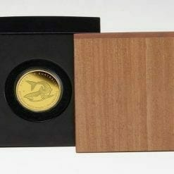 2011 Discover Australia Dreaming Series - Great White Shark 1/10oz .9999 Gold Proof Coin - The Perth Mint 10