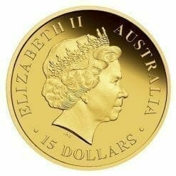 2011 Discover Australia Dreaming Series - Great White Shark 1/10oz .9999 Gold Proof Coin - The Perth Mint 8