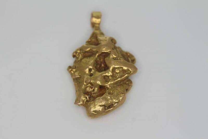 Natural Australian Gold Nugget Pendant - 10.05g 5
