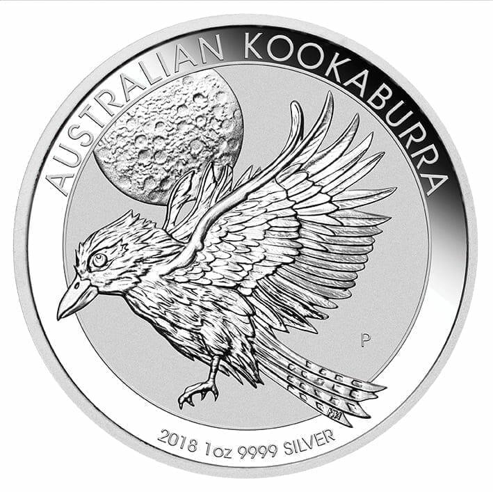 2018 Australian Kookaburra 1oz .9999 Silver Bullion Coin - The Perth Mint 4
