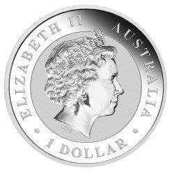 2018 Australian Kookaburra 1oz .9999 Silver Bullion Coin - The Perth Mint 5