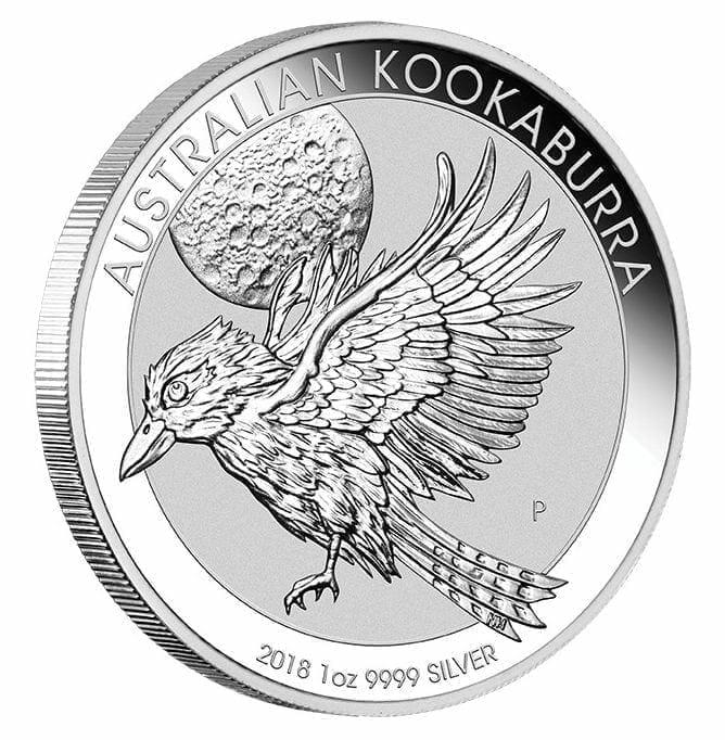 2018 Australian Kookaburra 1oz .9999 Silver Bullion Coin - The Perth Mint 1