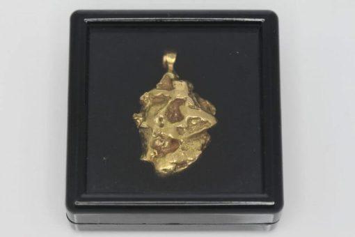 Natural Australian Gold Nugget Pendant - 10.05g 7