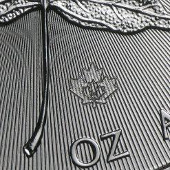 2014 Maple Leaf 1oz .9999 Silver Bullion Coin – Royal Canadian Mint 4