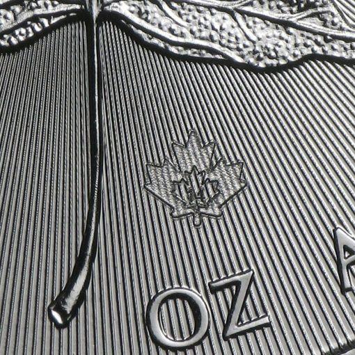 2014 Maple Leaf 1oz .9999 Silver Bullion Coin – Royal Canadian Mint 2
