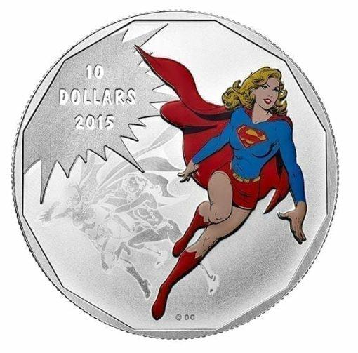 2015 $10 DC Comics Originals - Unity 1/2oz .9999 Silver Coin - Royal Canadian Mint 1