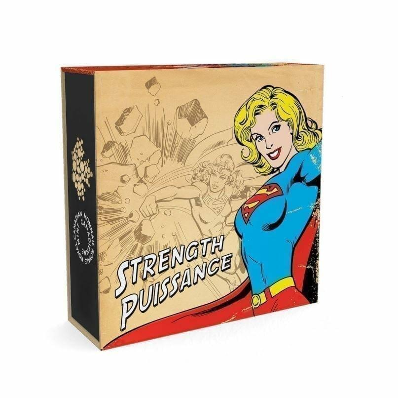 2015 $10 DC Comics Originals - Strength (Supergirl) 1/2oz .9999 Silver Coin - Royal Canadian Mint 7