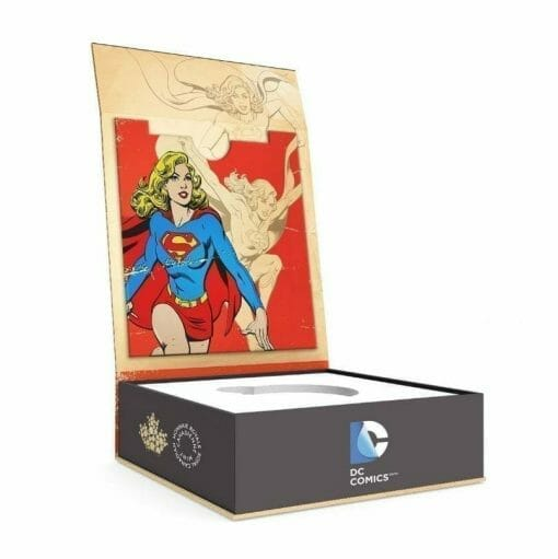 2015 $10 DC Comics Originals - Strength (Supergirl) 1/2oz .9999 Silver Coin - Royal Canadian Mint 3