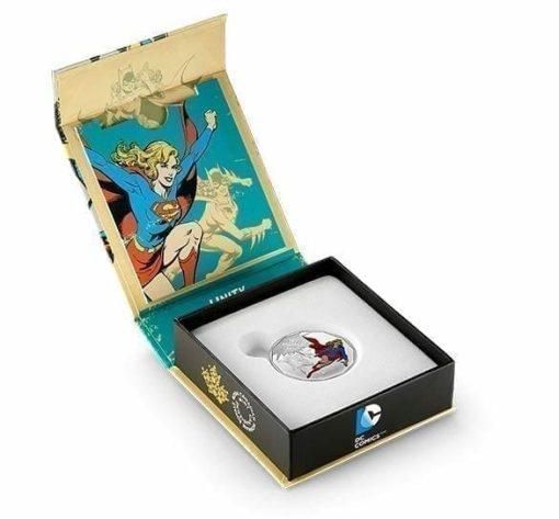 2015 $10 DC Comics Originals - Unity 1/2oz .9999 Silver Coin - Royal Canadian Mint 4
