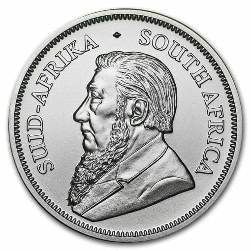 2018 Silver Krugerrand 1oz .999 Silver Bullion Coin - South African Mint 2