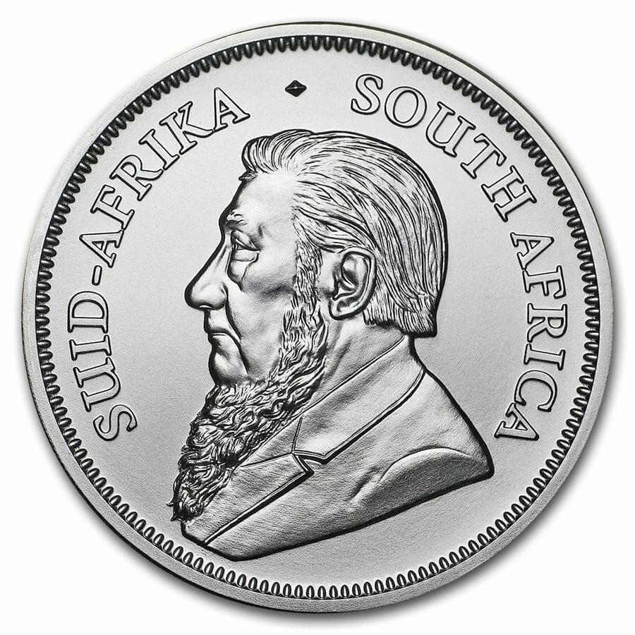 2018 Silver Krugerrand 1oz .999 Silver Bullion Coin - South African Mint 3