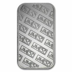 Johnson Matthey 1oz .999 Silver Minted Bullion Bar - JM 3