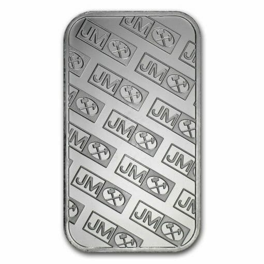 Johnson Matthey 1oz .999 Silver Minted Bullion Bar - JM 2