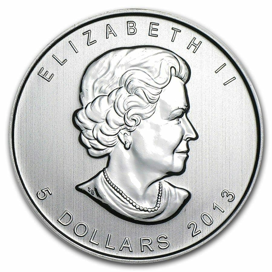 2013 Wild Life Series - Pronghorn Antelope 1oz .9999 Silver Bullion Coin - Royal Canadian Mint 2