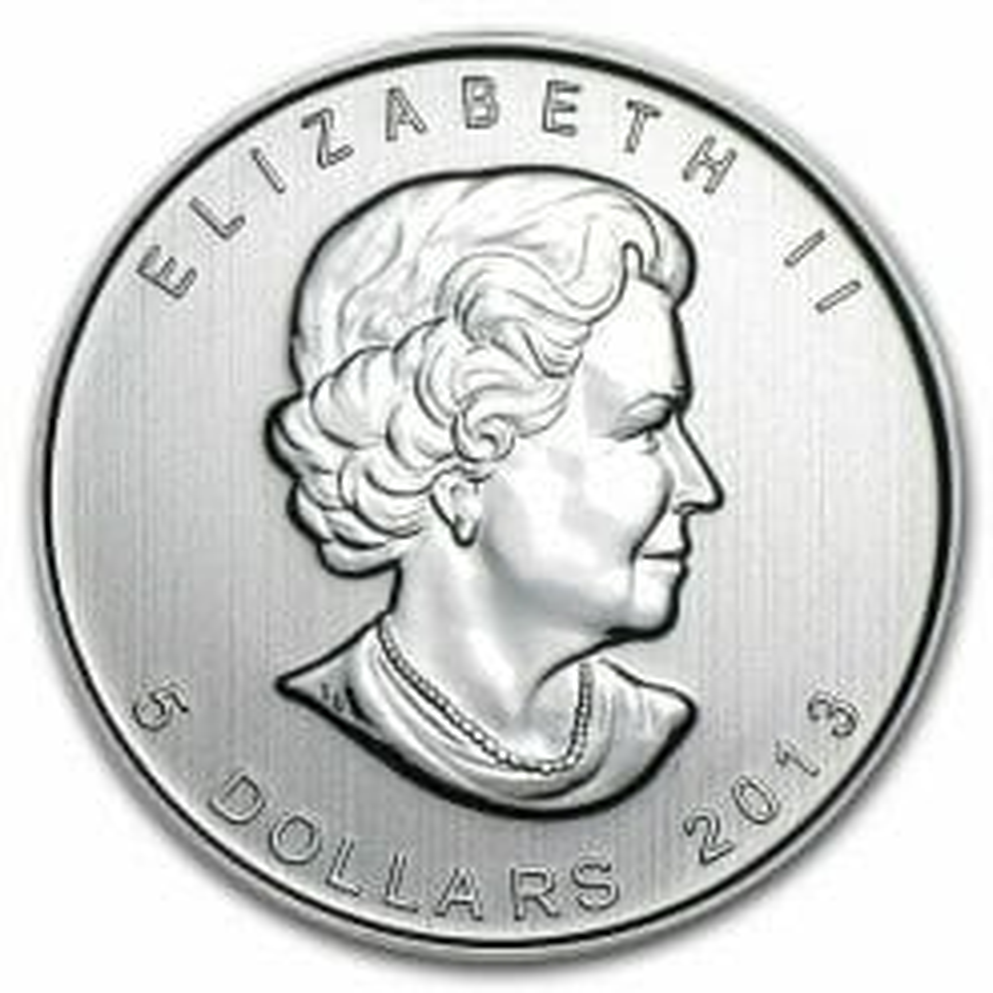 2013 Wild Life Series - Pronghorn Antelope 1oz .9999 Silver Bullion Coin - Royal Canadian Mint 3