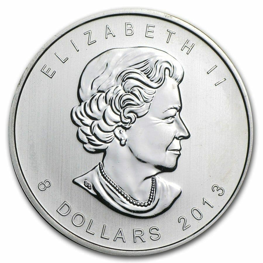 2013 Polar Bear 1 1/2oz (1.5oz) .9999 Silver Bullion Coin - Royal Canadian Mint 2