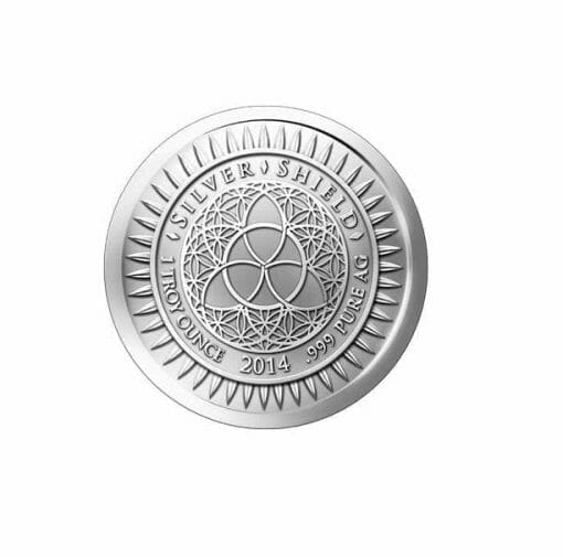 2014 Competition Is A Sin 1oz .999 Silver Bullion Round - Silver Shield 2