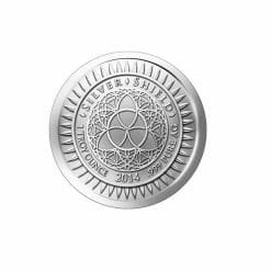 2014 Competition Is A Sin 1oz .999 Silver Bullion Round - Silver Shield 3