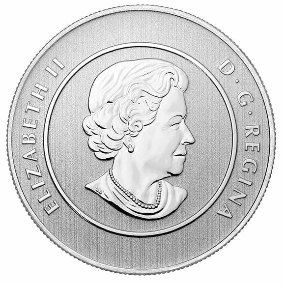 2014 $20 Snowman 1/4oz .9999 Silver Coin - Royal Canadian Mint 2