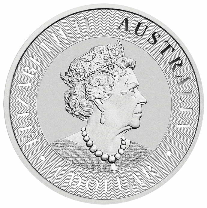 2019 Australian Kangaroo 1oz .9999 Silver Bullion Coin – The Perth Mint 2