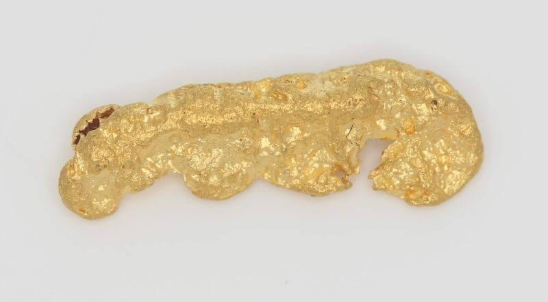 Natural Western Australian Gold Nugget - 1.26g 2