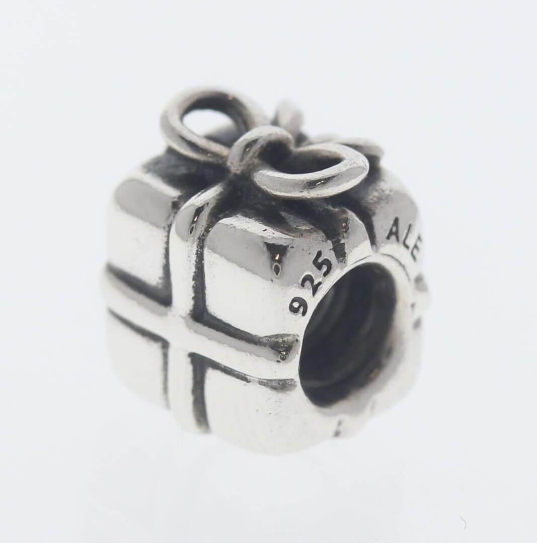 Pandora Sterling Silver Present Charm - 790300 - Retired ALE 925 4