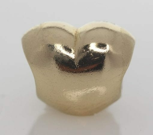 Pandora 14ct Gold Heart Charm - 750119 - ALE 585 4